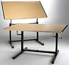 Drafting Table Adjustable Height Alvin Professional Portable Drafting Table Portable Drafting