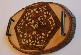 Islamic Home Decor by Coffee Table Tray Wooden Tray Home Decor Medieval Islamic Art