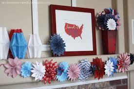 4th of july home decorations paper fireworks landeelu com