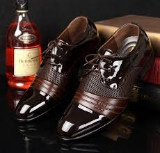 stylish mens casual lace up wedding oxford dress formal shoes