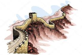 the great wall of china u2014 stock vector stockshoppe 9663327