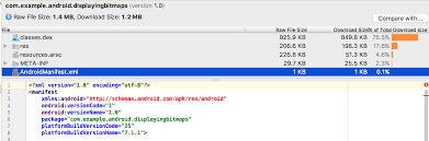 how to read apk files analyze your build with apk analyzer android studio