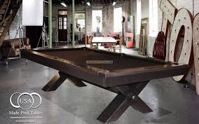 Custom Pool Tables by Industrial Pool Tables Steel Pool Tables Metal Pool Table