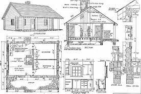 small cabin plans with porch log home plans 40 totally free diy log cabin floor plans