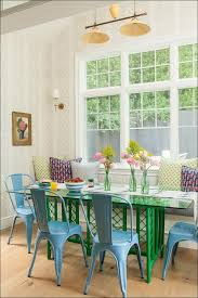 kitchen dining room table and chairs green dining chairs blue