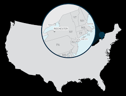 New York Map Rochester by Ib World Student Conference Admissions And Financial Aid