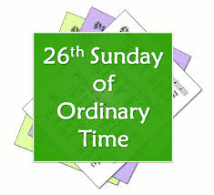 liturgytools net hymns for the 26th sunday of ordinary time year c
