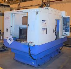 kira kn 40va cnc vertical machining center with pallet changer