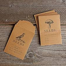 seed envelopes seed saving packets