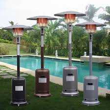 outside patio heaters gym equipment outdoor patio heater propane standing lp gas steel