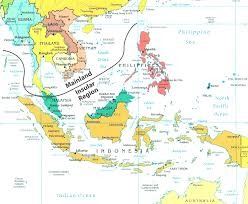 Eastern Asia Map by East And South Asia Map Evenakliyat Biz