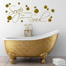 bathroom wall quote soap body wall sticker decal transfer mural bathroom wall quote soap body wall sticker decal
