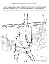 graphic anti terrorism coloring books introduce kids isis