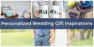 personalized gifts for a wedding that newlyweds will fall in