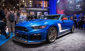 2015 mustang supercharged roush supercharger kit boosts 2015 mustang gt to 600 hp