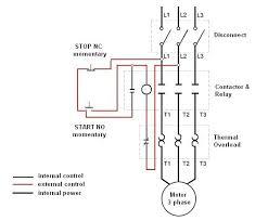single phase motor starter wiring diagram the best wiring