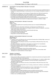 product development manager resume sample product development project manager resume samples velvet jobs