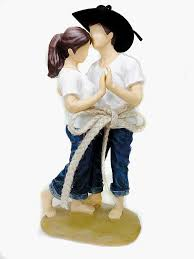 western wedding cake topper casual lasso of western wedding cake topper figurine