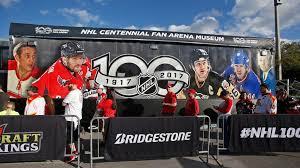 nhl centennial fan arena nhl centennial fan arena makes stop in ottawa