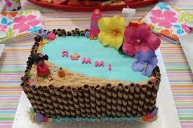 hawaiian pool party birthday party ideas photo 5 of 9 catch my
