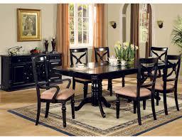 Beautiful Dining Room Set Black Gallery Room Design Ideas - Black wood dining room set