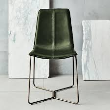 Dining Leather Chair Dining Chairs Stunning Green Leather Dining Chairs Green Painted