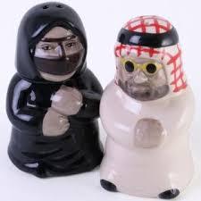 novelty salt and pepper shakers novelty gift cute middle eastern arab characters salt pepper