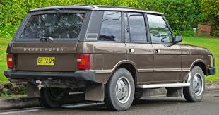 classic range rover automotive database range rover classic