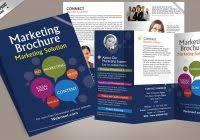 blank tri fold brochure template free download best agenda
