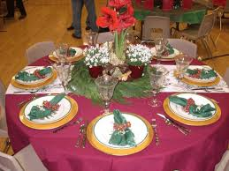 Christmas Decoration For Chandelier by Table Decoration For Christmas Dinner Dining Hall Decoration 42