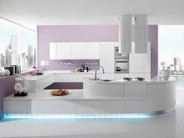 lumiere led pour cuisine cuisine blanche laquée 99 exemples modernes et élégants