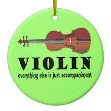violin teacher christmas tree decorations u0026 ornaments zazzle co uk