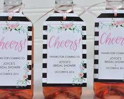 wine bottle favors mini wine bottle favor tags bridal shower favors last sail
