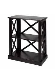 bay view 3 shelf bookcase casual home