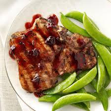 chipotle raspberry pork chops recipe taste of home