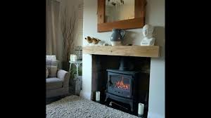 oak fireplace beams for mantles from celtic timber youtube