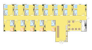 sample floor plans with dimensions hotel plan lay out plan of small hostel with dimensions