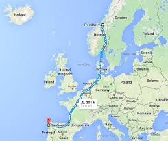 Spain Google Maps by A Planner For The Pilgrims U0027 Route