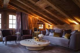 wohnzimmer design skandinavische schicke wohnzimmer design zu ihres winter chalet