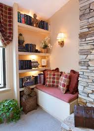 a collection nook window seat design ideas