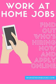 Design Works At Home Work At Home Jobs Posted Today Workersonboard