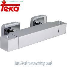 Bathroom Water Outlet Teka Cuadro Thermostatic Shower Mixer 452310200 Teka