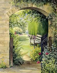 Garden Mural Ideas Garden Wall Murals Ideas Best 25 Garden Mural Ideas On Pinterest