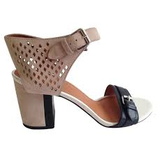 marc jacobs pink leather sandals buy second hand marc jacobs