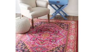 Coral Color Bathroom Rugs Rugs Exquisite Pink And Blue Nursery Rug Favored Pink And Blue