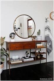 Round Bathroom Mirror With Shelf by Salon Mirror With Shelf 17 Best Ideas About Mirror With Bathroom