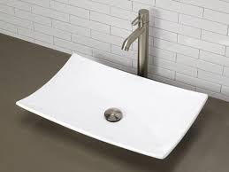 small rectangular vessel sink elegant white vessel sink within riona oval porcelain bathroom decor