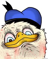 Donald Duck Face Meme - image 128633 dolan know your meme