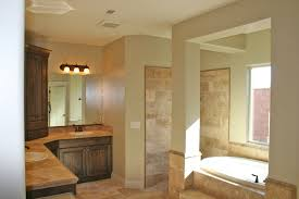 Bathroom Color Scheme by Bathroom Tile Color Schemes White Wood Blinds Copper Freetanding