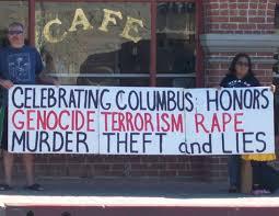columbus day protested in southern california la imc historia